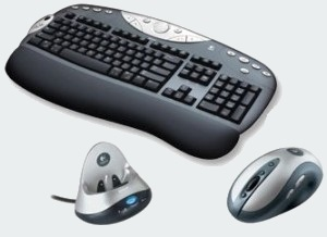 Logitech Elite Keyboard And MX900 Mouse