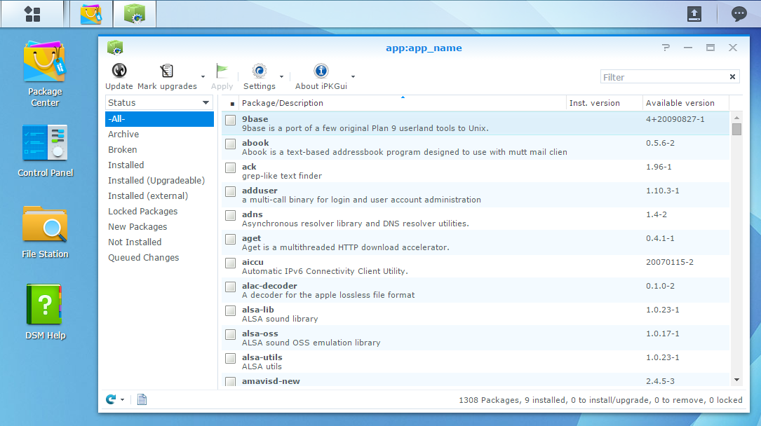 Script to automate IPKG installation on Synology | Beatifica