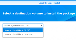 Install On Any Volume