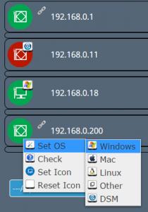 AcpiOnLan Set OS and Icon