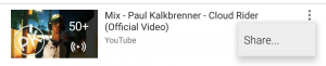 YouTube Share PlayList