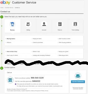 Contact Ebay [En]