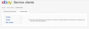Contact Ebay [Fr]