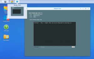 Synology Package Creator for shell scripts and php pages